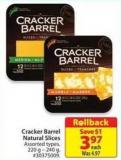 Cracker Barrel Natural Cheese