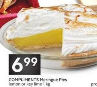 Compliments Meringue Pies