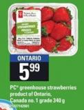 PC Greenhouse Strawberries