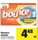 Bounce Sheets - 40/80's