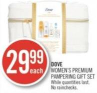 Dove Women's Premium Pampering Gift Set