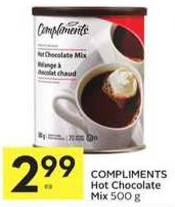 Compliments Hot Chocolate Mix