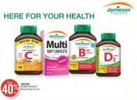 Jamieson Vitamin Products