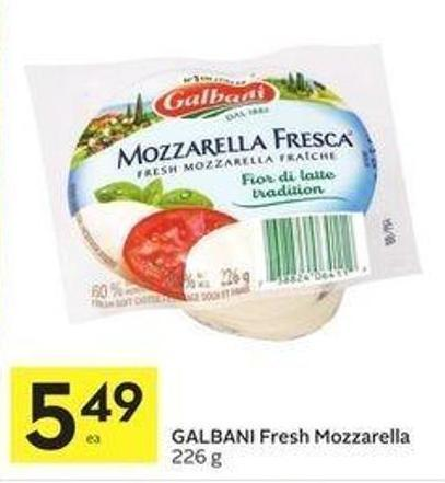 Galbani Fresh Mozzarella