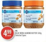 PC Blue Menu Almond Butter 40 g