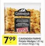 Cavendish Farms Potato Wedges