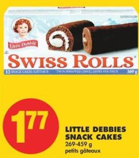 Little Debbies Snack Cakes 269-459 G