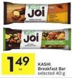 Kashi Breakfast Bar Selected 40 g