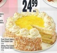 Front Street Bakery Pina Colada Cake 1.6 Kg