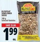 Kliyatgat Sunflower Seeds 180 g