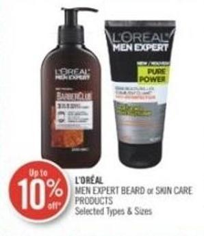 L'oréal Men Expert Beard or Skin Care Products