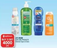 Life Brand Sun Care Products