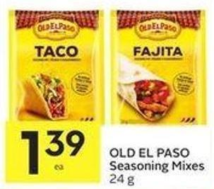 Old El Paso Seasoning Mixes 24 g