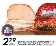 Sensations By Compliments Oven Roasted Chicken