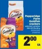 Pepperidge Farm Goldfish Crackers - 156-227/6x28 g
