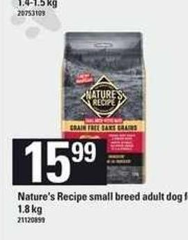 Nature's Recipe Small Breed Adult Dog Food