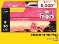 Folgers Coffee PODS - 50's