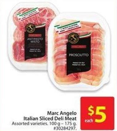 Marc Angelo Italian Sliced Deli Meat