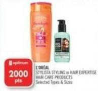L'oréal Stylista Styling or Hair Expertise Hair Care Products