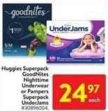 Huggies Superpack Goodnites Nighttime Underwear