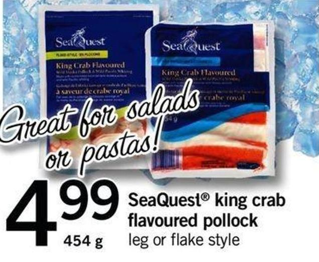 Seaquest King Crab Flavoured Pollock - 454 G