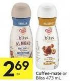 Coffee-mate or Bliss
