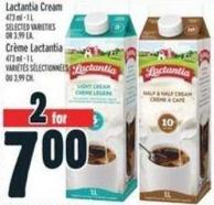 Lactantia Cream 473 ml - 1 L