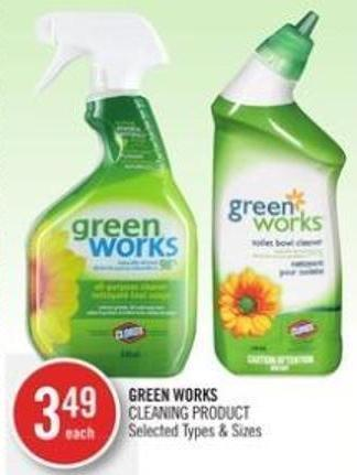Green Works Cleaning Product