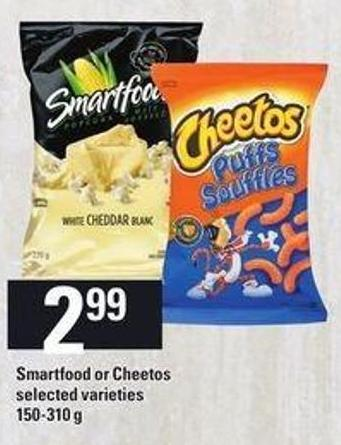 Smartfood Or Cheetos