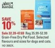 Grain-free Dry Pet Food
