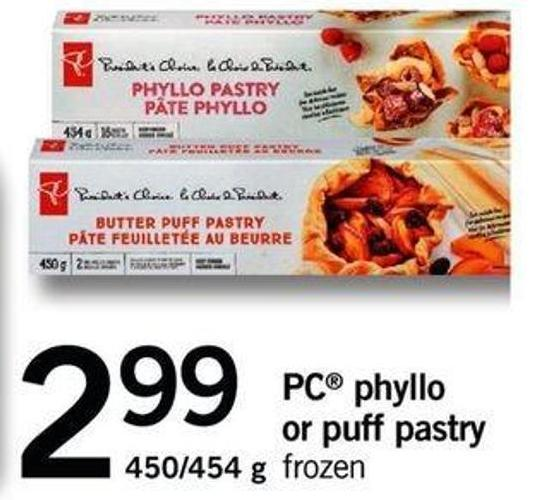 PC Phyllo Or Puff Pastry - 450/454 G
