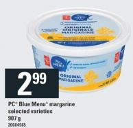 PC Blue Menu Margarine - 907 g