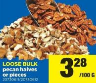 Pecan Halves Or Pieces - Loose Bulk