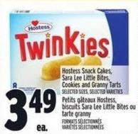Hostess Snack Cakes - Sara Lee Little Bites - Cookies And Granny Tarts