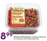 Royal Nuts Pecans