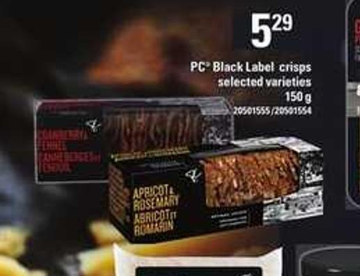 PC Black Label Crisps