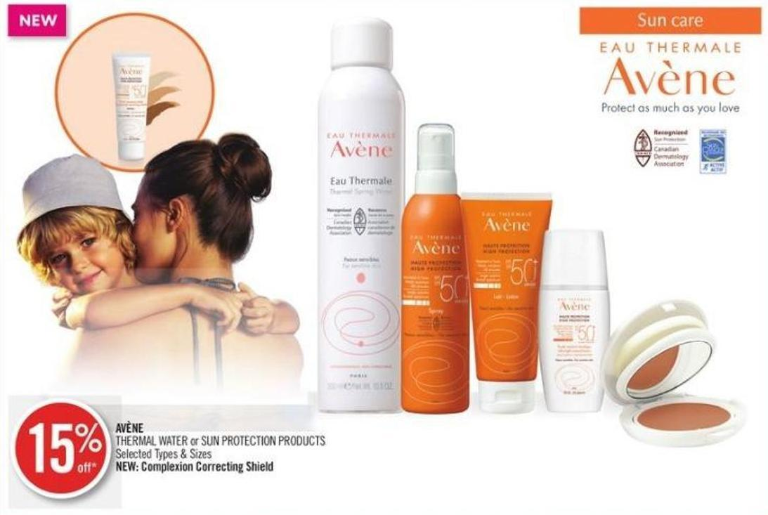 Avène Thermal Water or Sun Protection Products