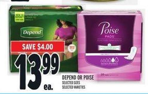 Depend or Poise