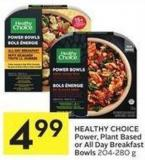 Healthy Choice Power - Plant Based or All Day Breakfast Bowls 204-280 g
