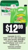 Cascade - 39-60's - Finish - 45-60's Dish Detergent Tabs - Gain Laundry Detergent Fabric Softener - 3.06-3.83 L Or 4.43l/42's - Gain - Downy Beads - 570 G