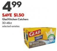 Glad Kitchen Catchers 30-48ct