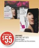 Jouviance Skin Care Gift Sets