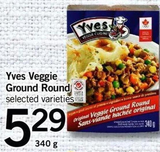Yves Veggie Ground Round - 340 G