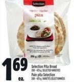 Selection Pita Bread