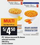 PC Deluxe Macaroni & Cheese - 200/225 G