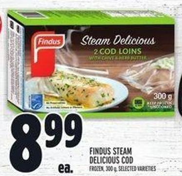 Findus Steam Delicious Cod