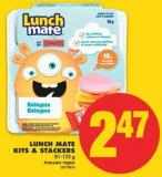 Lunch Mate Kits & Stackers - 81-132 g