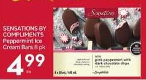 Sensations By Compliments Peppermint Ice Cream Bars