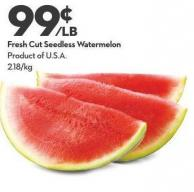 Fresh Cut Seedless Watermelon