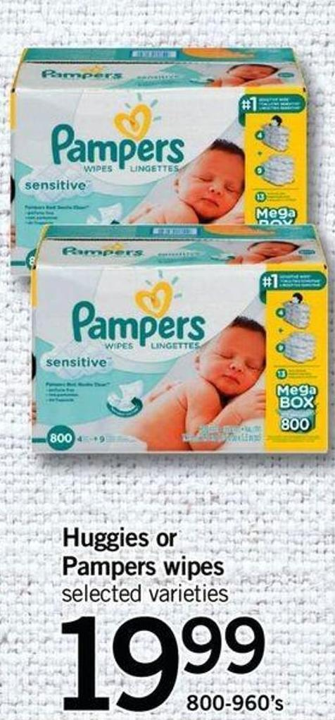 Uggies Or Pampers Wipes - 800-960's